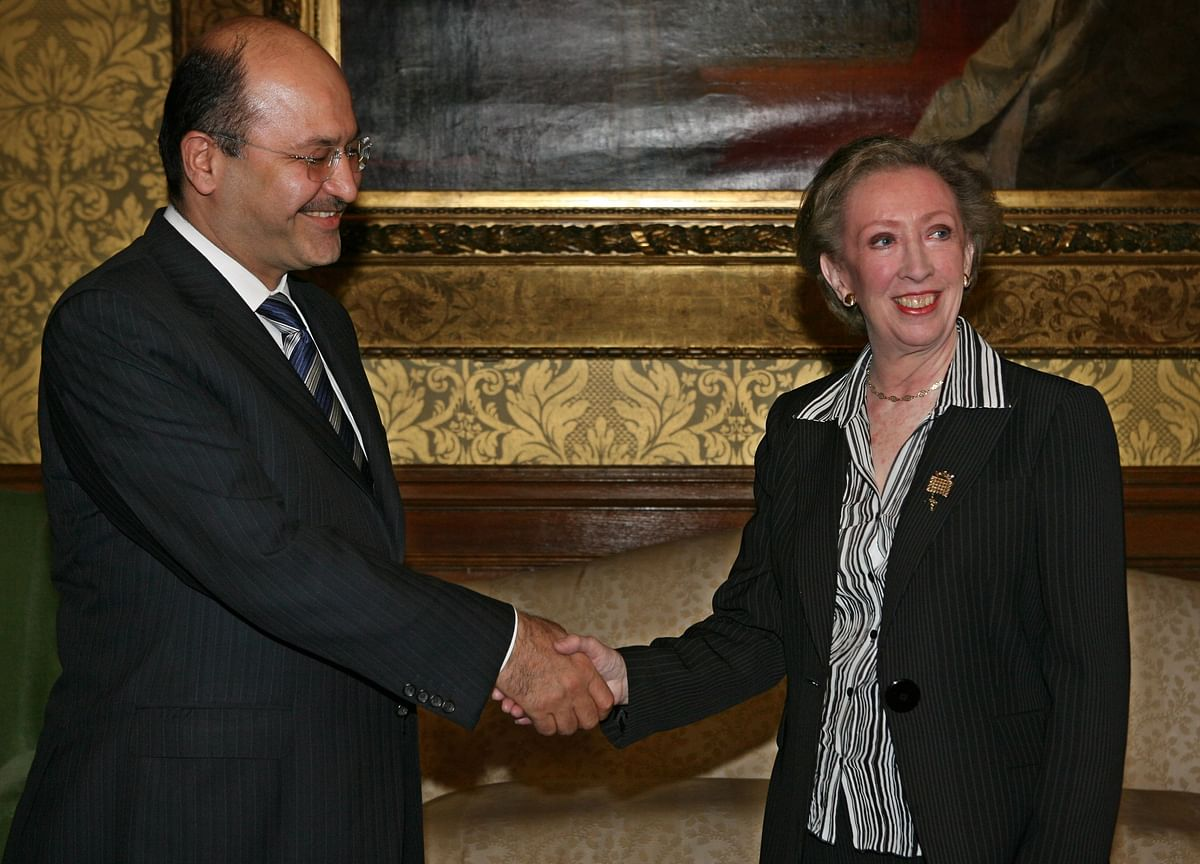 Iraq President Saleh Submits Resignation to Parliament,Jazeera Reports