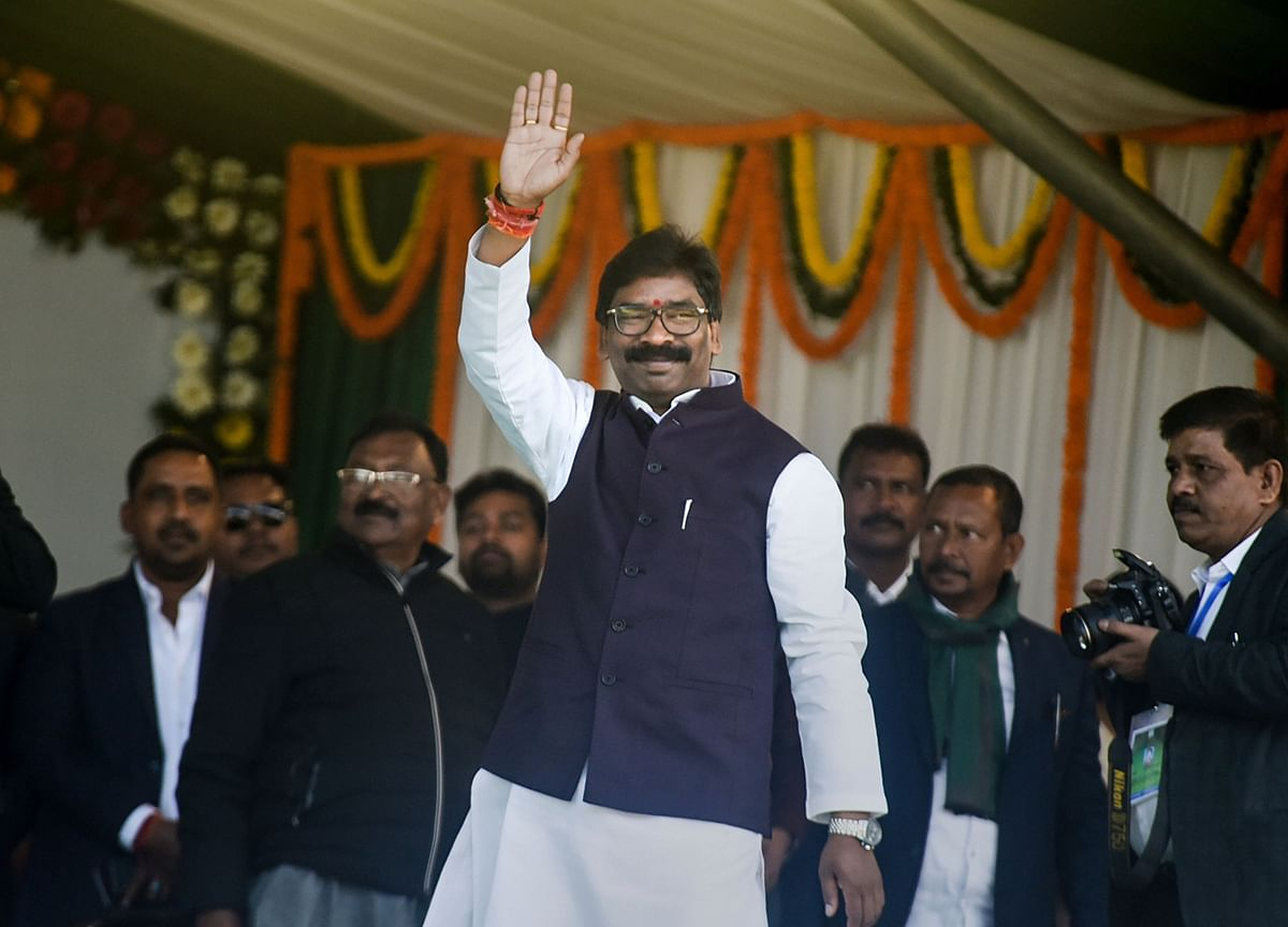 Hemant Soren Takes Oath As 11th Chief Minister Of Jharkhand