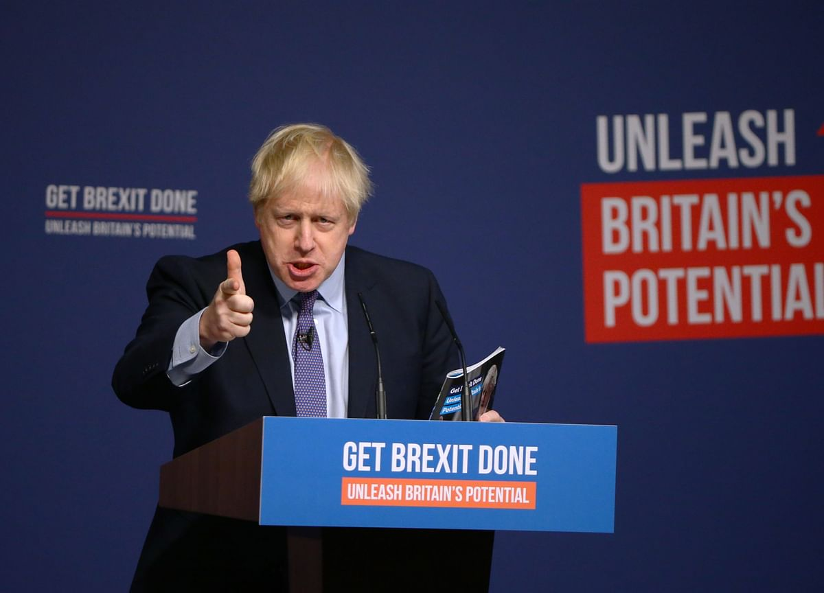 Johnson Aims to Hold His Lead As Race Ends: U.K. Campaign Trail
