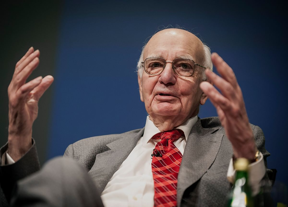 There's the Legend of Paul Volcker and the Man I Got to Know