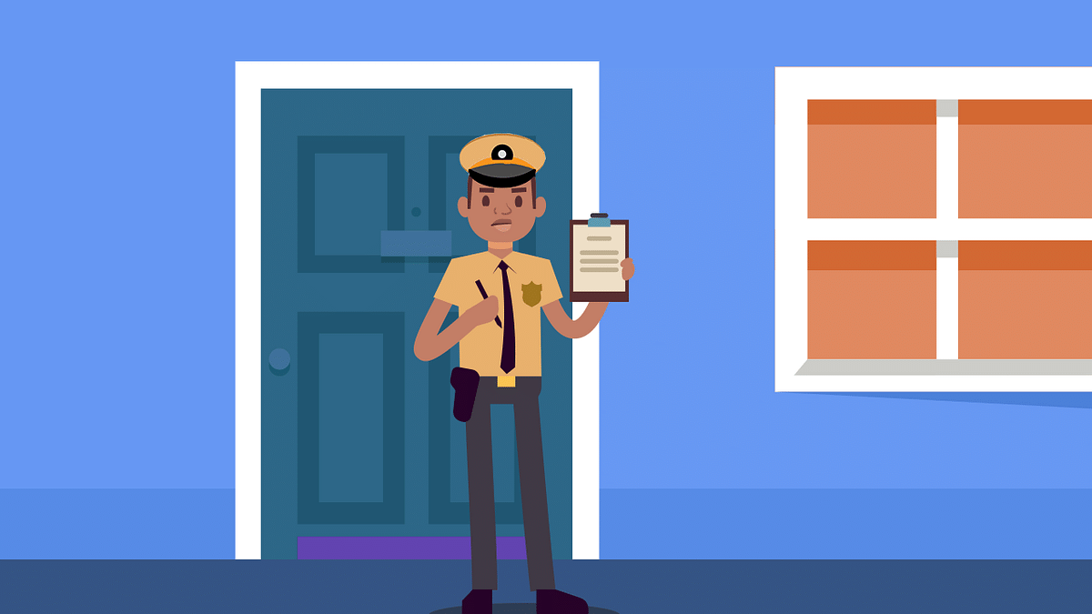 Cops At Your Door. Should You Let Them In?