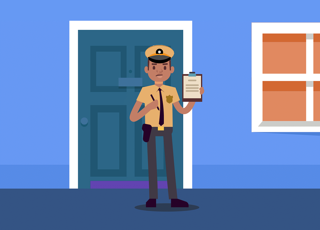 BQLearning: Cops At Your Door. Should You Let Them In?