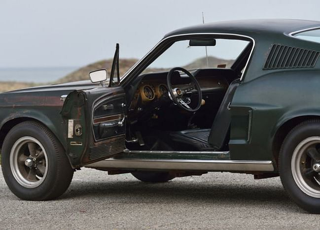 Steve McQueen's Bullitt Mustang Sells For $3.4 Million