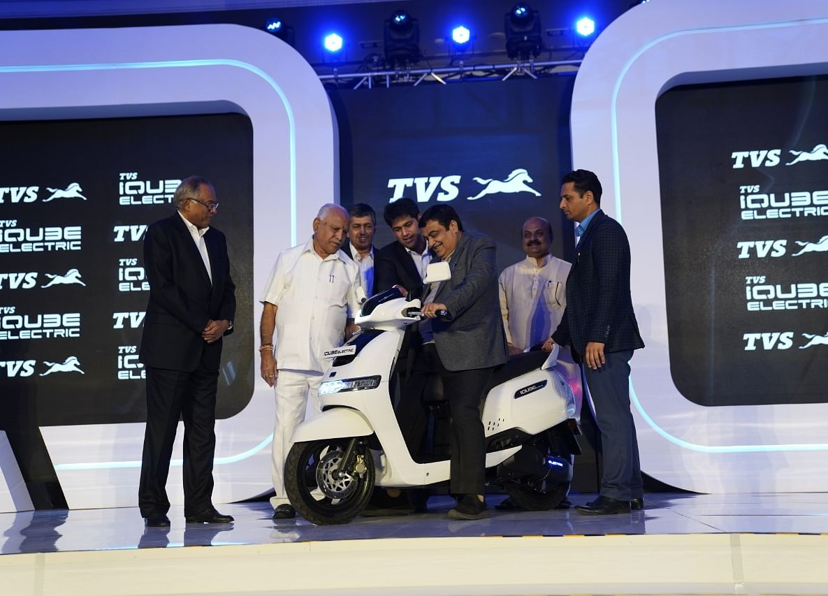 TVS Motor Forays Into Electric Two-Wheeler Segment; Launches E-Scooter At Rs 1.15 Lakh