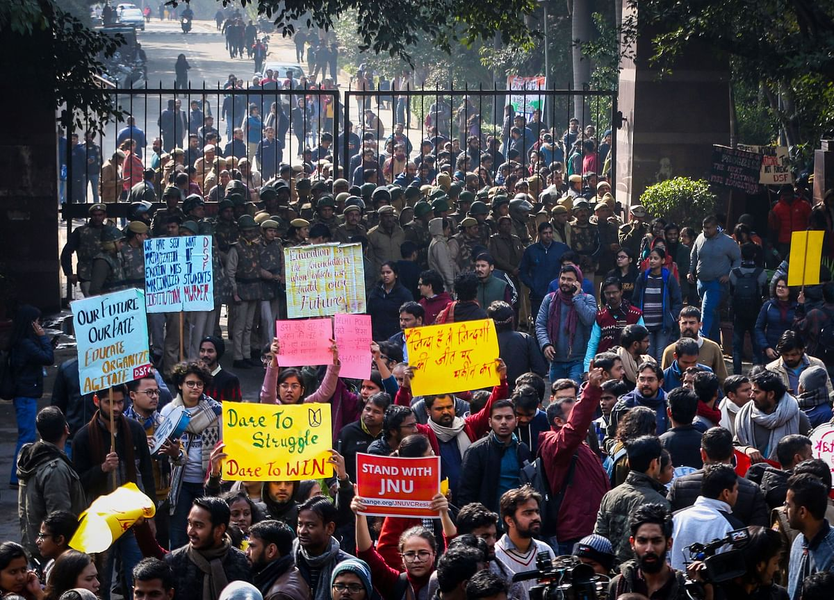 JNU Violence: Delhi High Court Seeks Response From Police, WhatsApp, Google On Plea To Preserve Data