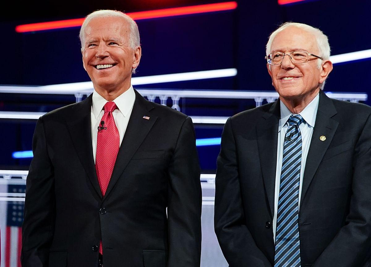 Bernie Sanders and Joe Biden Battle for Top Spot in New National Poll