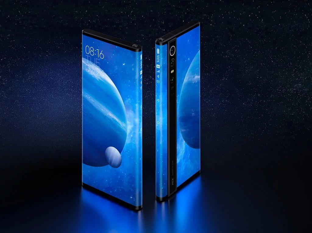 Xiaomi's Mi MIX Alpha concept. (Source: Xiaomi)