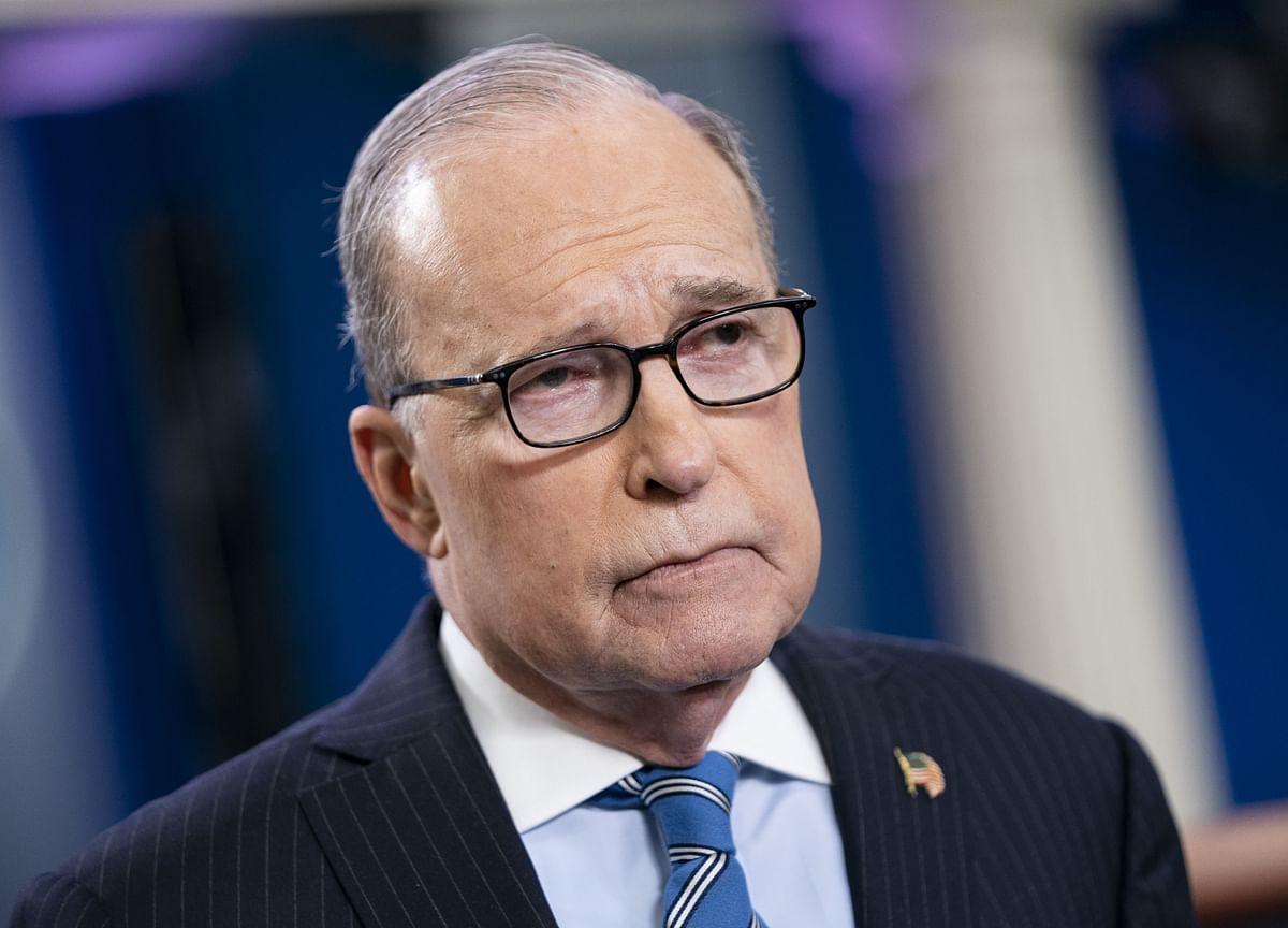 U.S. Sees No Material Virus Impact on Economy, Kudlow Says