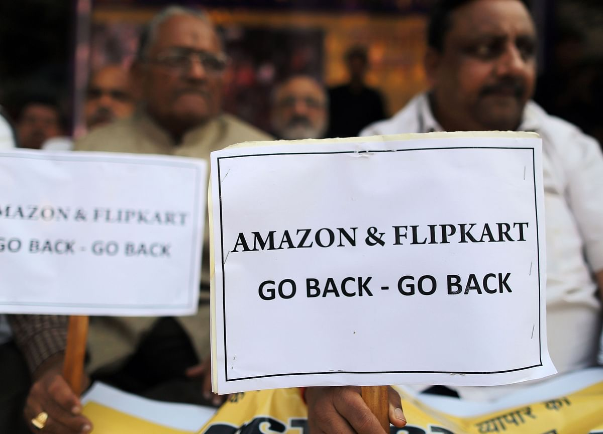 Amazon's Bezos to Face Unprecedented Protests During India Trip