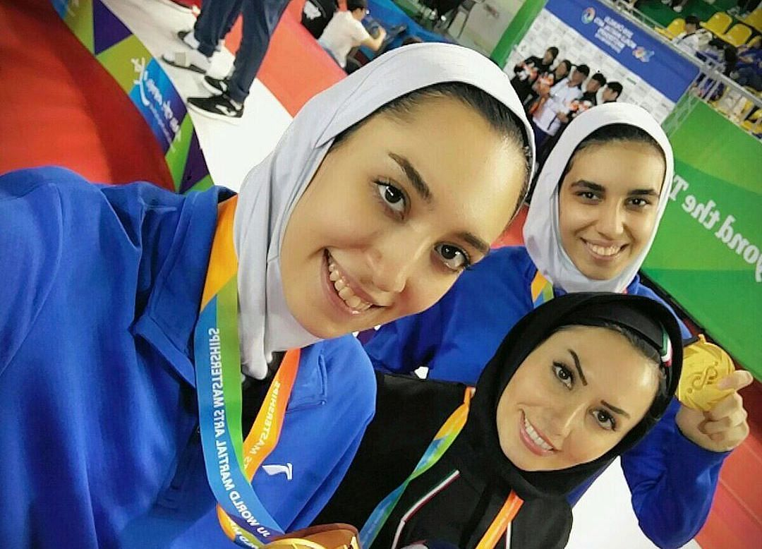 Sole Iranian Woman to Win Olympic Medal Defects - and Lashes Out