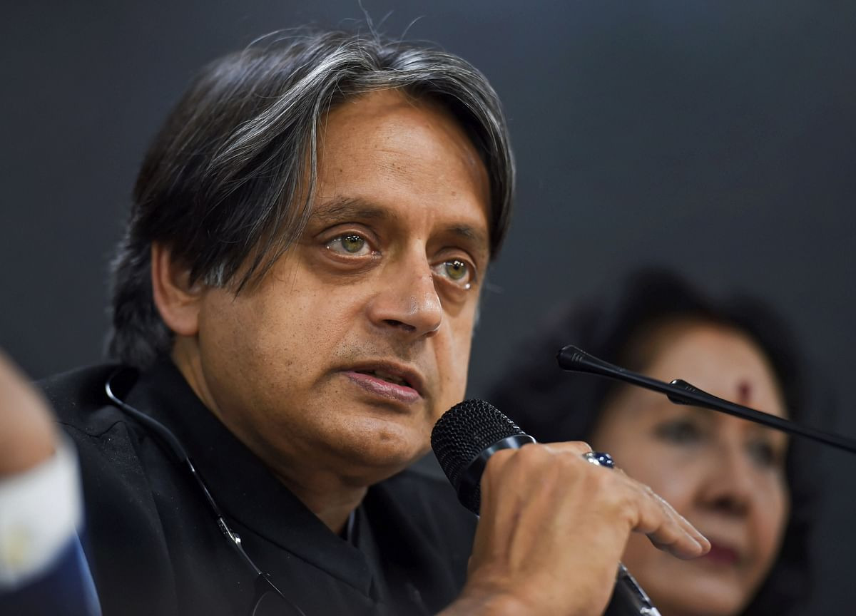 Government Giving 'Partition Of India's Soul': Shashi Tharoor