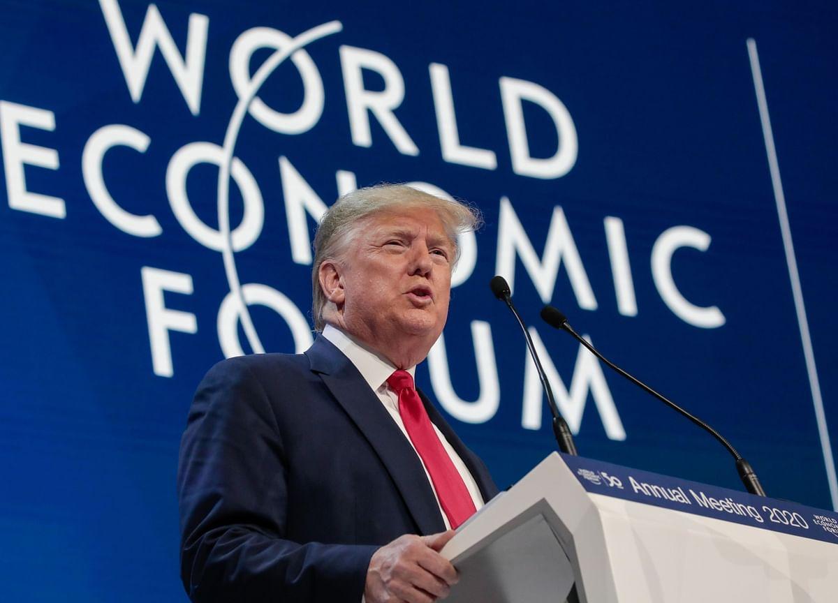 Trump Lauds His Achievements, Talks Trade With EU: Davos Update