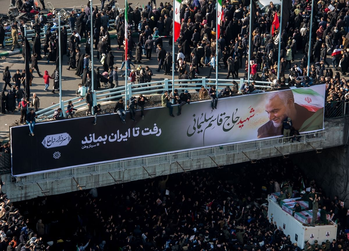 Iran's Quest to Dominate theMideast Loses Its Hero