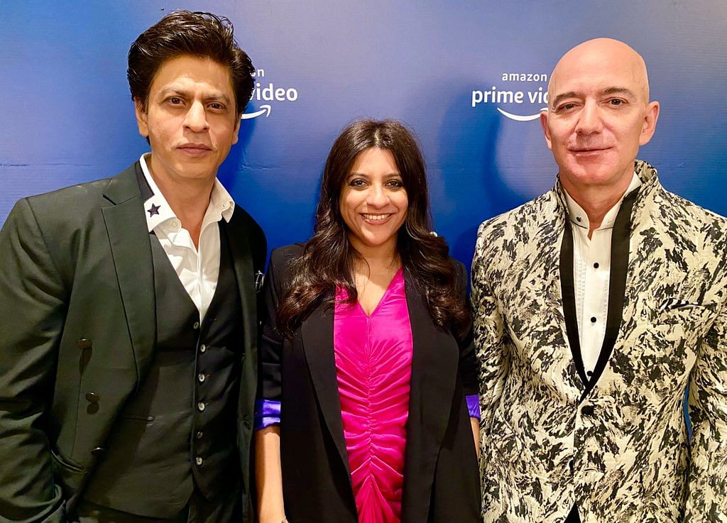 When Shah Rukh Made Jeff Bezos Say A Dialogue From 'Don'