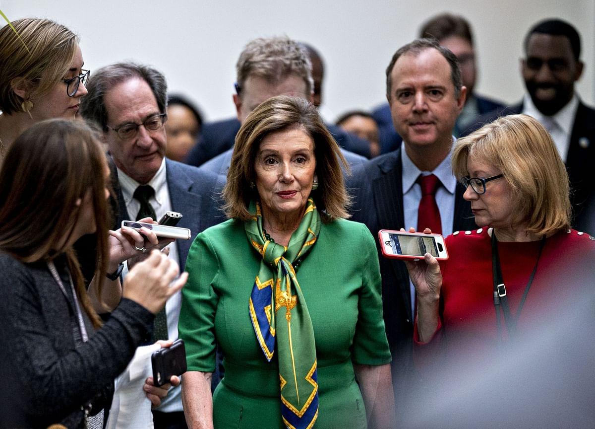 Trump's Impeachment Defense a Work in Progress; Pelosi Sets Wednesday Vote