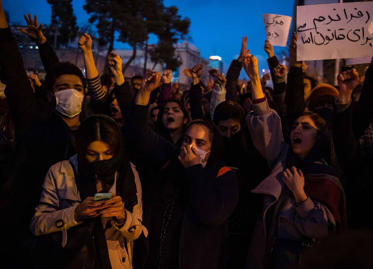 Iran Protests Turn Violent in Ongoing Anger Over Downed Jet