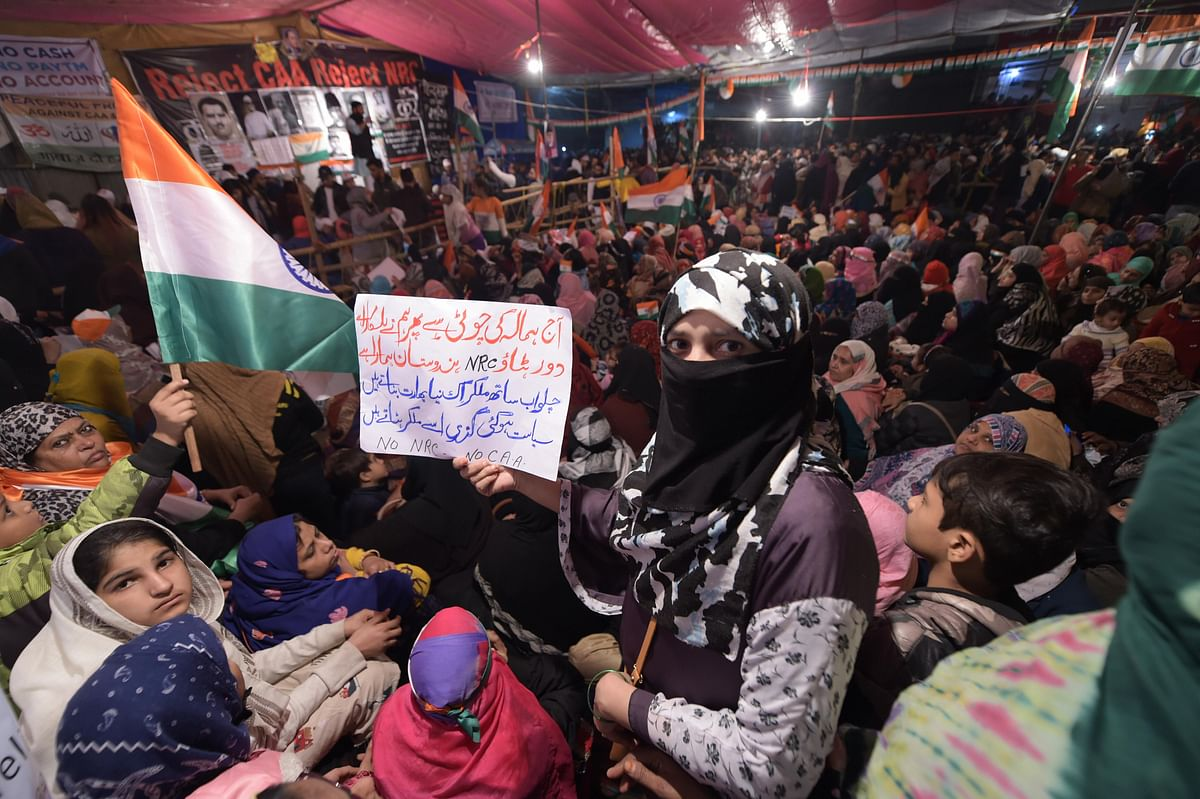 The women of Shaheen Bagh have become a symbol of strength for many across the country as they participate in a non-violent protest against the Citizenship Amendment Act, National Register of Citizens and the National Population Register. This is all Delhi recorded its coldest December day in over 100 years on Dec. 30. (Source: PTI)