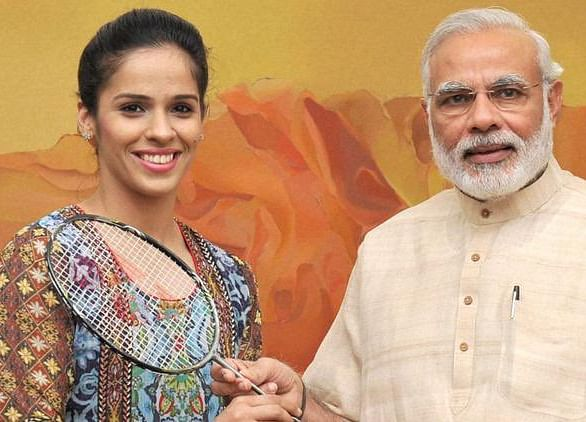 Badminton Ace Saina Nehwal Joins BJP