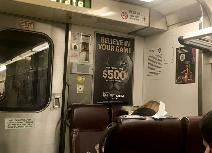 New Jersey Train Stations Become Draw for New York Gamblers