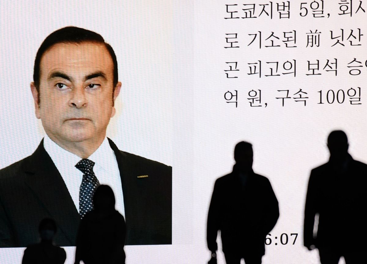 Carlos Ghosn Has Tales to Tell and Scores to Settle