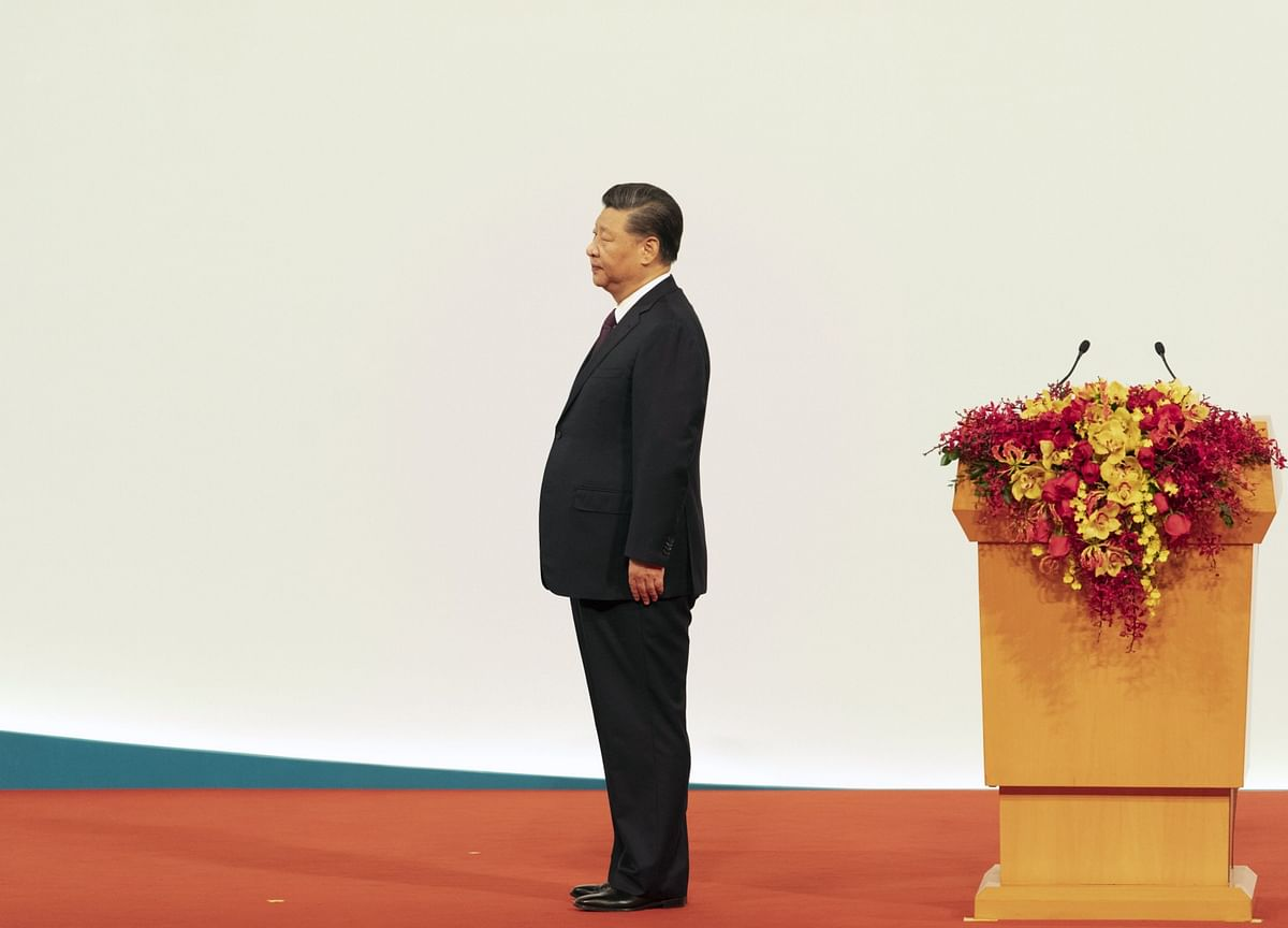 Xi Defends China's Model for Hong Kong After Restive Year