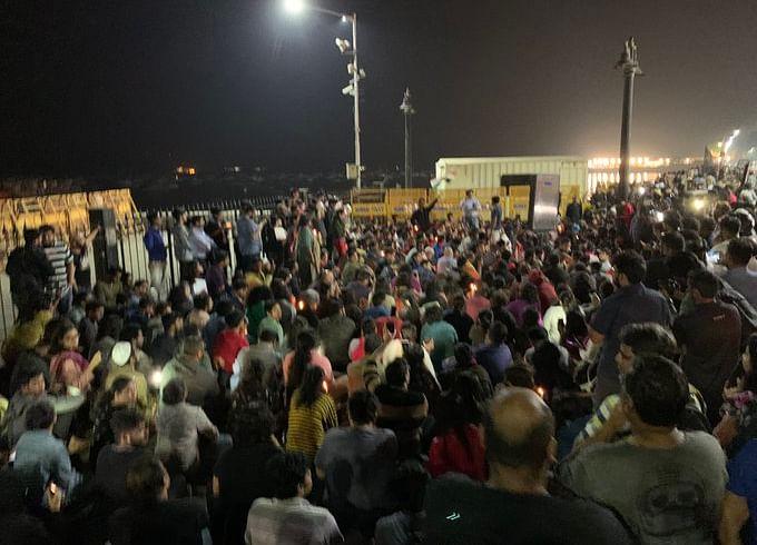 JNU Violence: Mumbai Students Hold Impromptu Midnight Protest