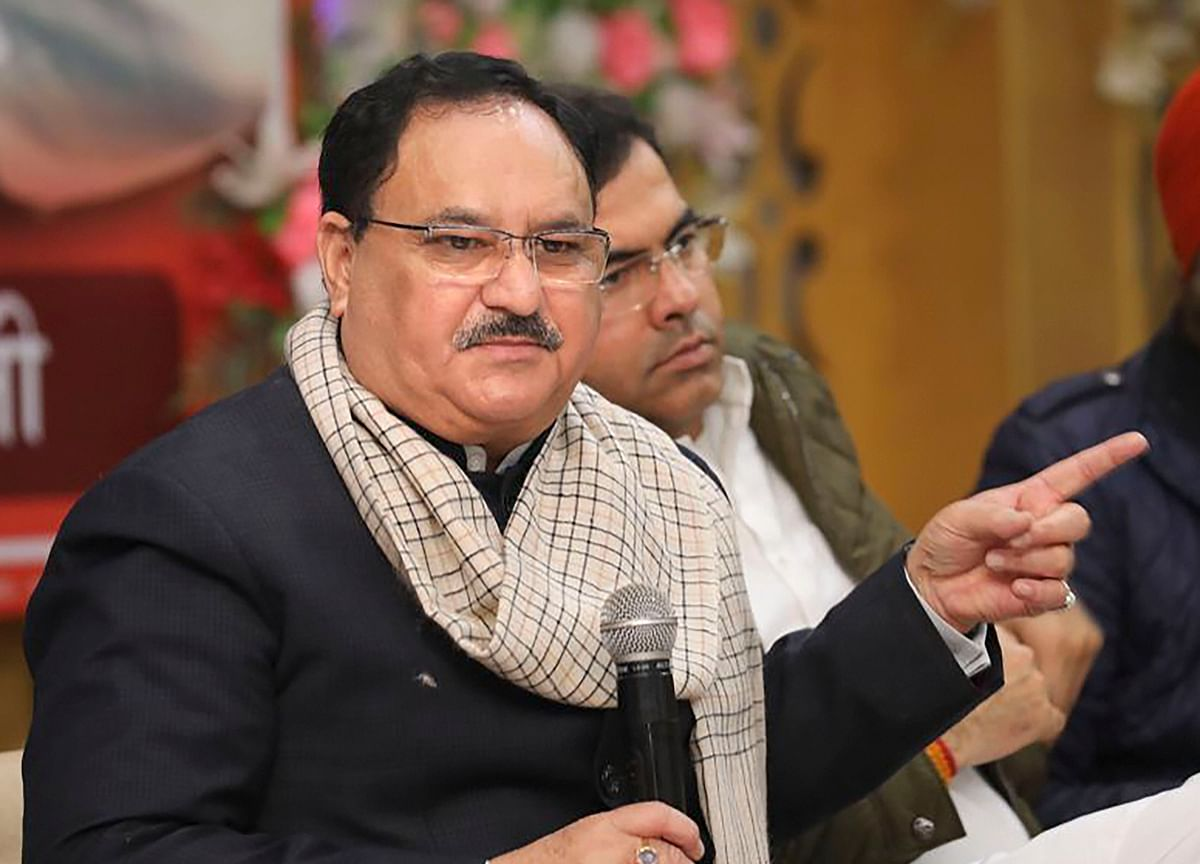 JP Nadda Elected Unopposed As BJP President Replacing Amit Shah