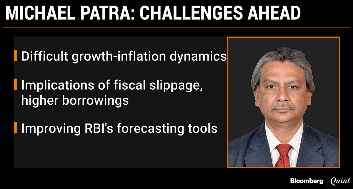 Michael  Patra Appointed RBI Deputy Governor For Three Years
