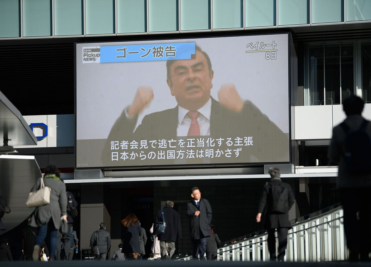 Ghosn's Accused Accomplices Held as Japan Seeks Extradition