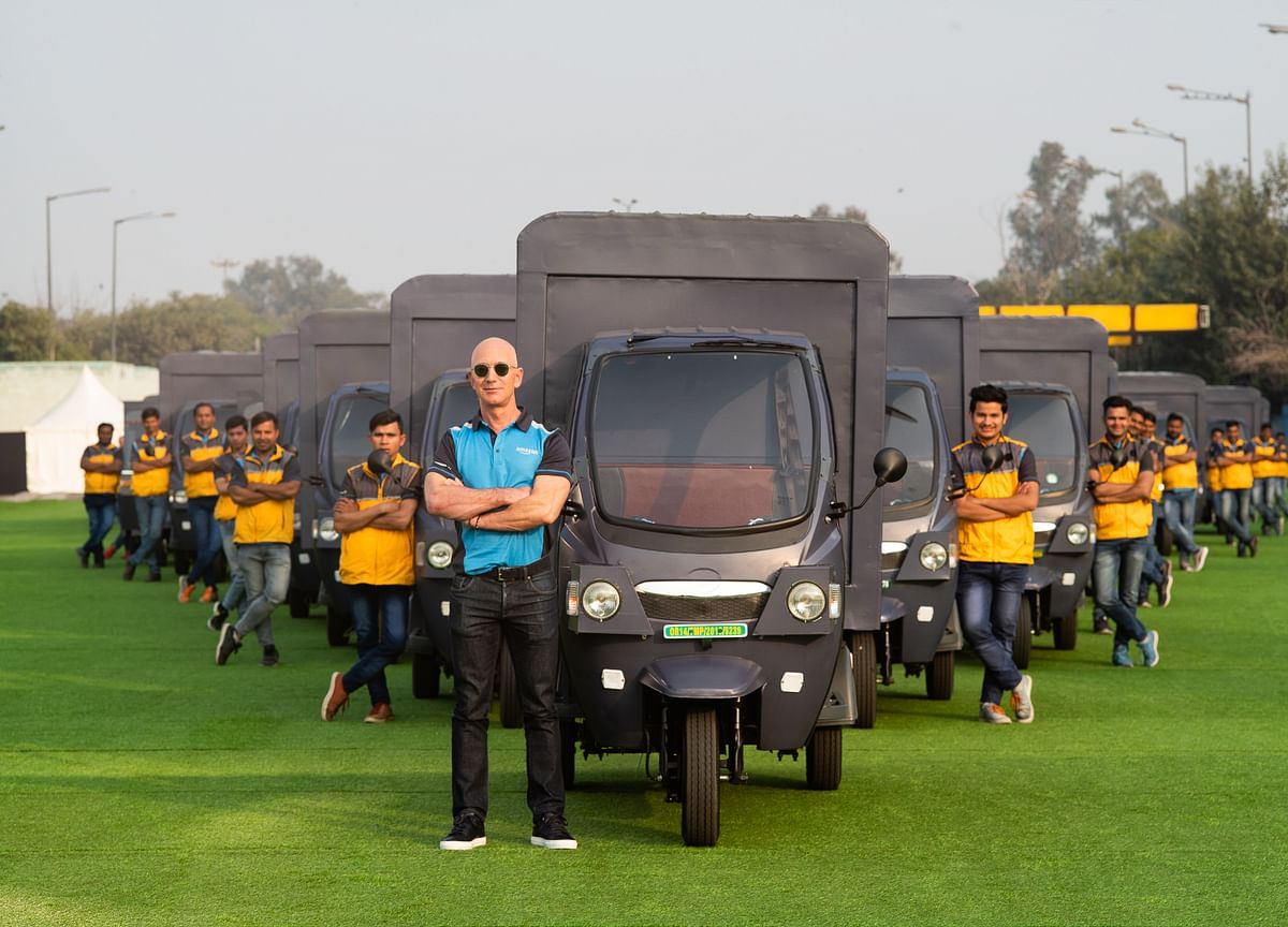Amazon India To Include 10,000 Electric Vehicles In Delivery Fleet By 2025