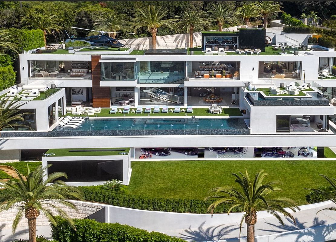 Bel Air Mansion Has 21 Baths, Five Bars and a $58 Million Mortgage