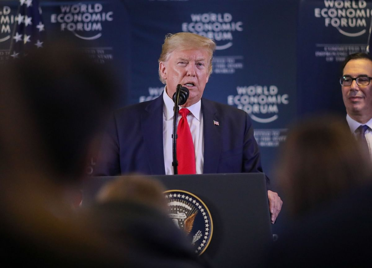 Trump Exits With Trade Push, Digital-Tax Accord: Davos Update