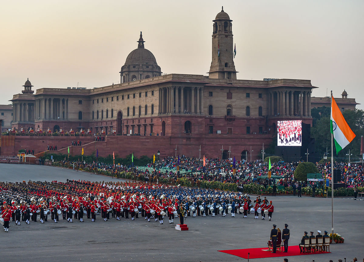 Beating Retreat: Foot-Tapping Music, Soulful Renditions Mark End Of Republic Day Celebrations