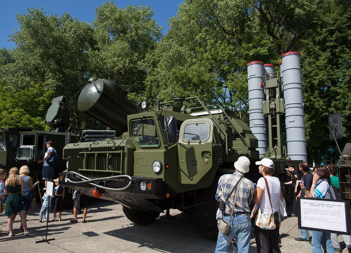 Russia Starts Production Of S-400 Missile Systems For India