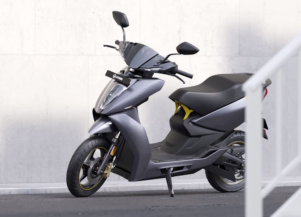 Ather Energy Launches 450X At A Price Rivalling Bajaj Chetak Electric Scooter