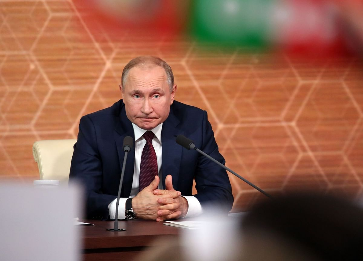 Putin's Syria Trip Shows He's Unfazed by Iran Tension
