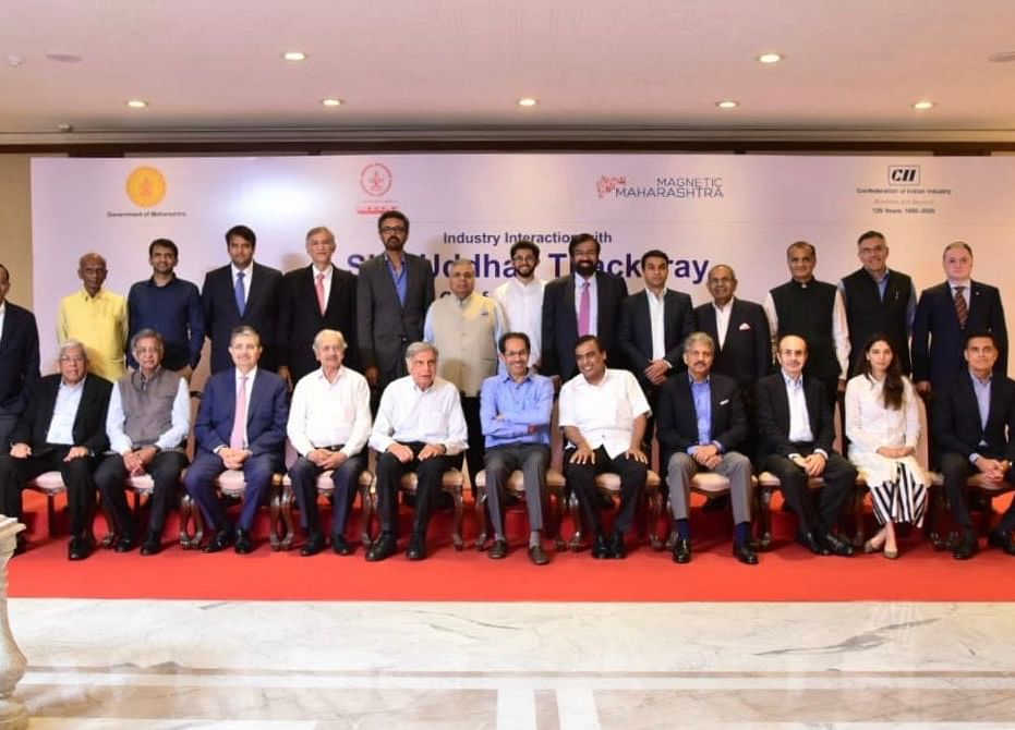 Uddhav Thackeray Meets Industry Leaders, Discusses Growth Roadmap
