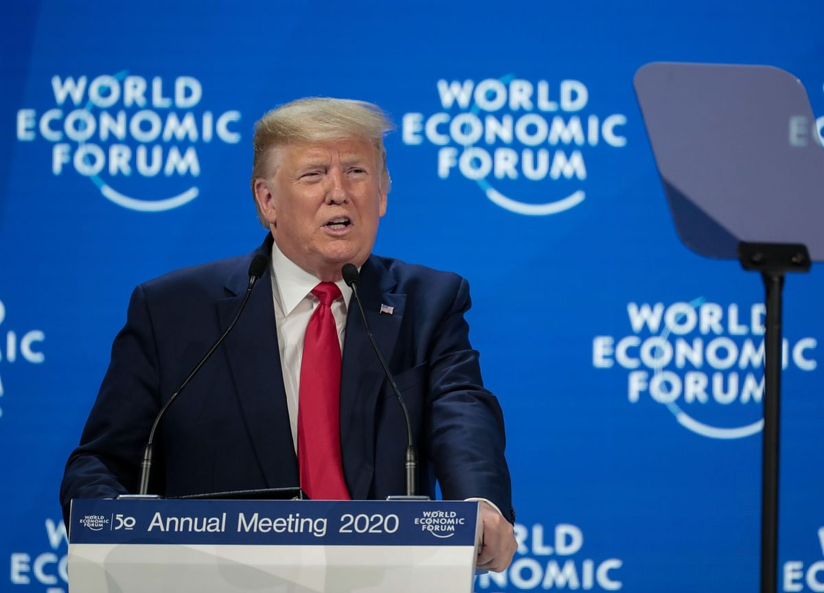 Trump Lauds Trade, Economic Wins in Davos Victory Lap