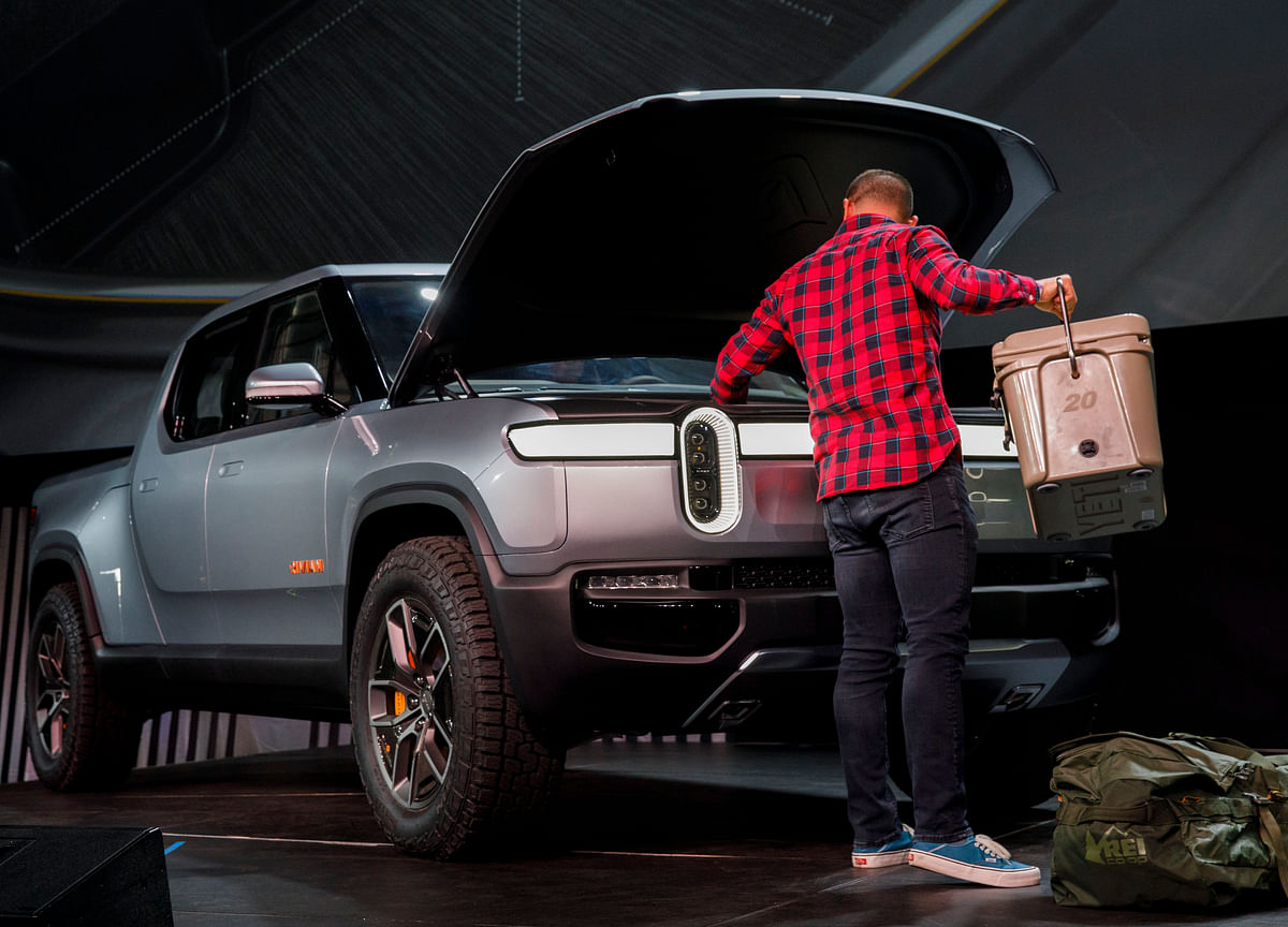 Rivian CEO Says Electric-Truck Startup to Make Ford Platform