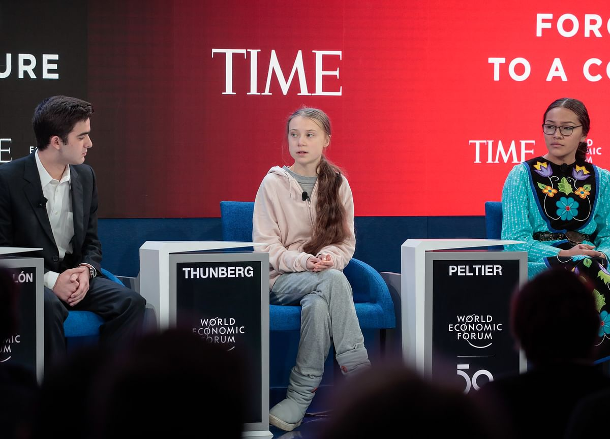 Davos 2020: In A First, World Economic Forum Invites 10 Teenage Change-Makers