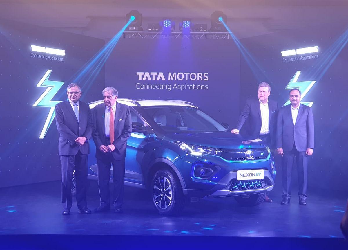 Tata Motors Launches Nexon EV At Starting Price Of Rs 13.99 Lakh