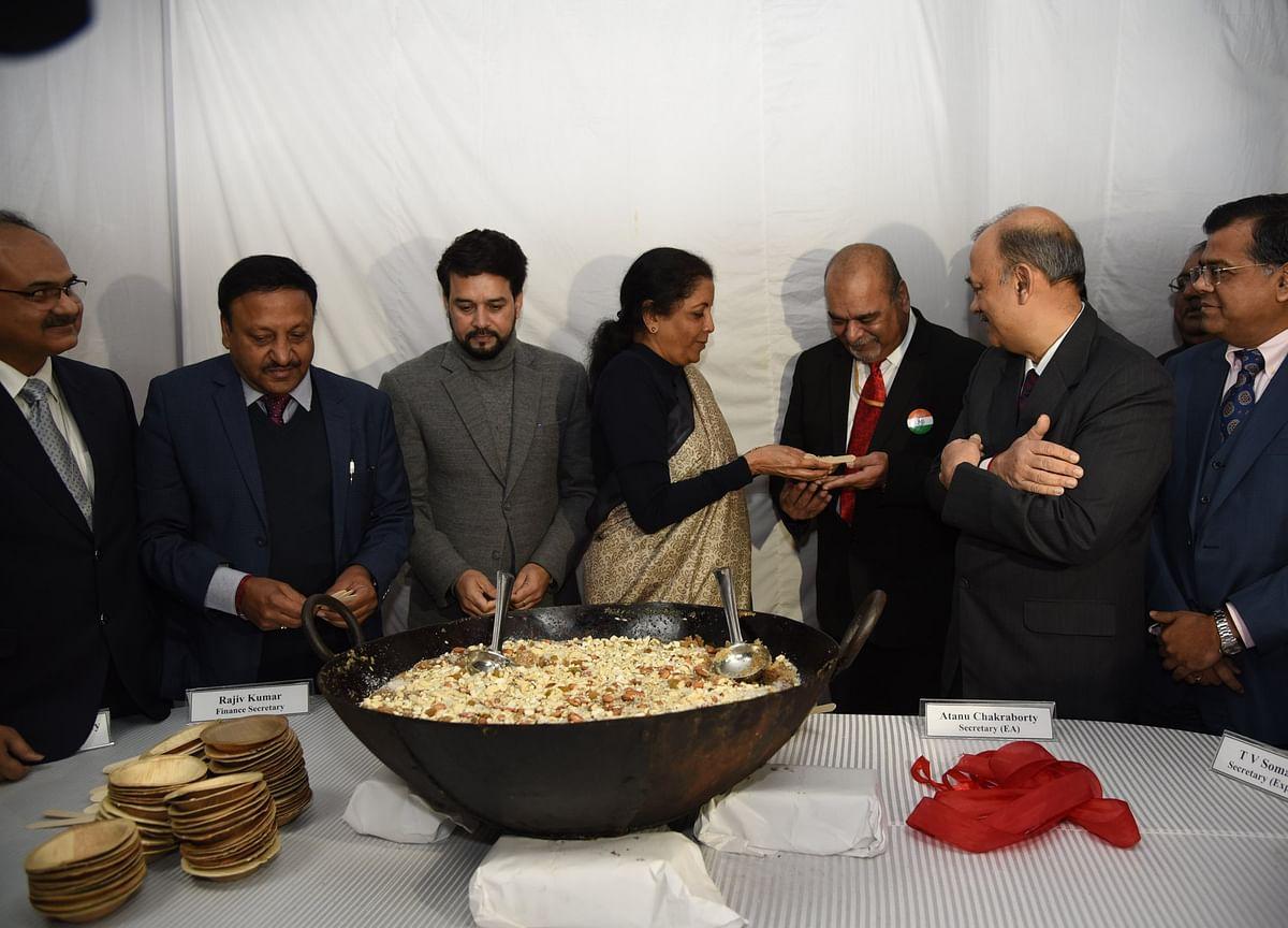 Budget 2020: Customary 'Halwa Ceremony' Kickstarts Process Of Printing Budget Documents