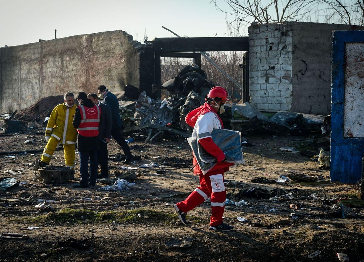 Ukraine Says Missile or Terrorist Responsible for Iran Jet Crash
