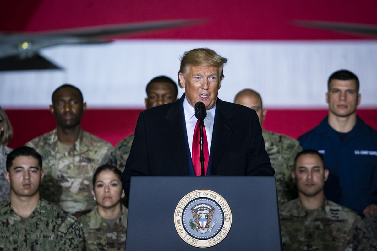 U.S. Adds to Mideast Forces, Denies Exit From Iraq After Errant Letter