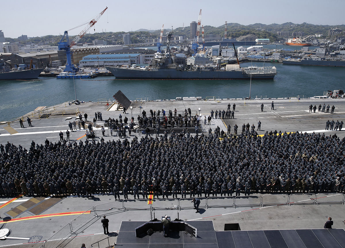 Japan Offers Blueprint for Ex-U.S. Naval Base in Philippines