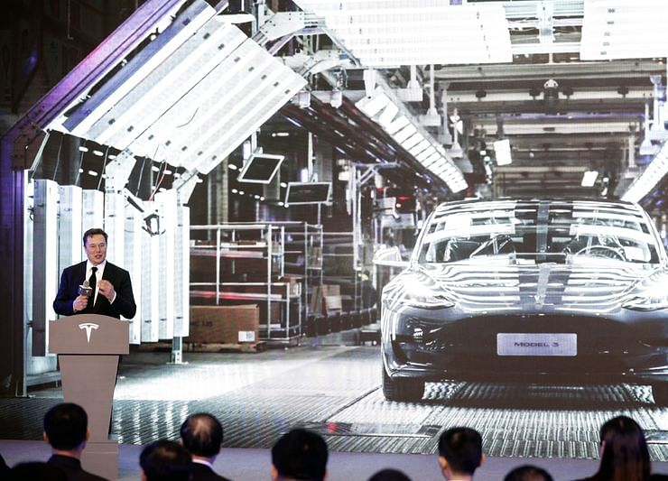 Tesla Opens Chinese Plant as Era of Real Competition Begins