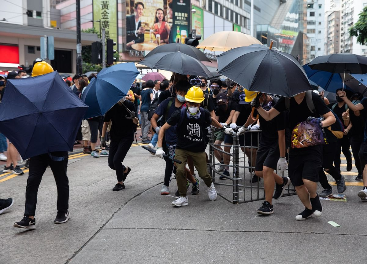 Hong Kong's Turbulence to Persist as Protesters Ring in New Year