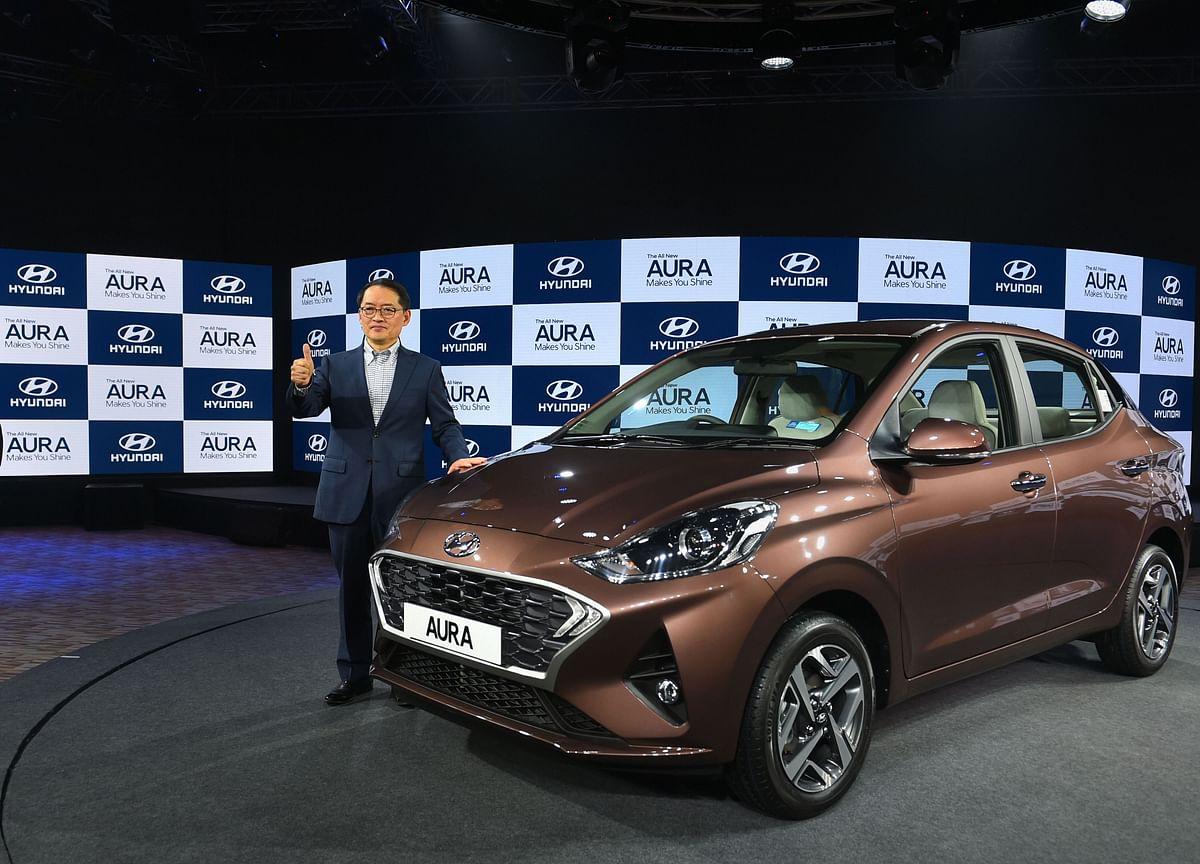 Hyundai Drives In Compact Sedan Aura With Price Starting At Rs 5.79 Lakh
