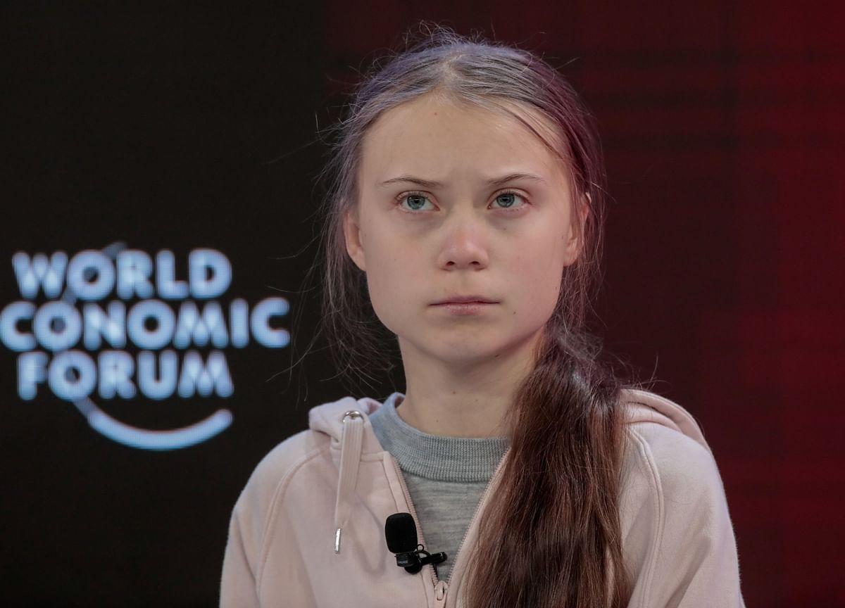 Greta Thunberg Tells Davos: You've Done Nothing on Climate Change