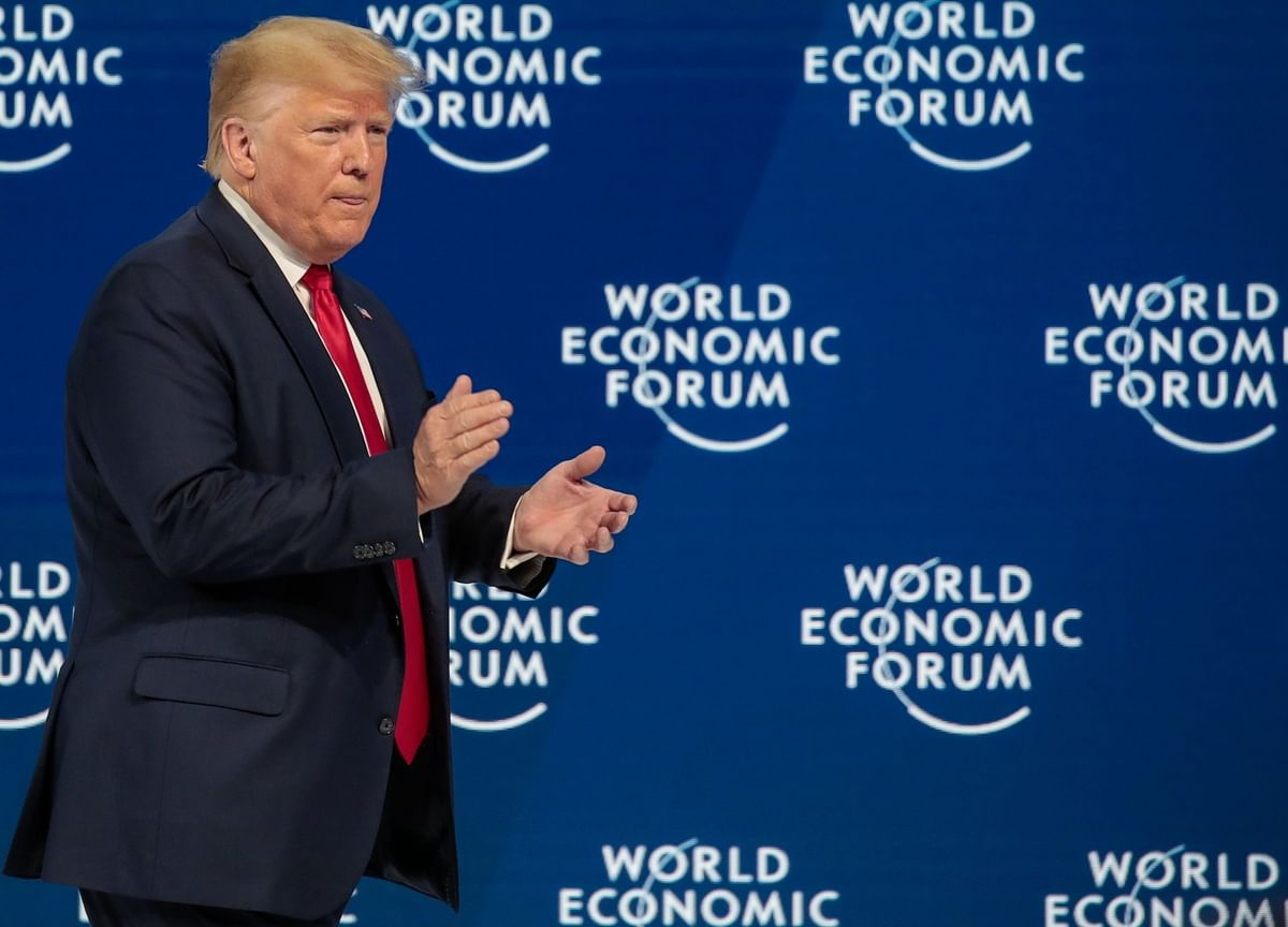 Trump Takes Suddenly Sunny View on European Trade From Davos
